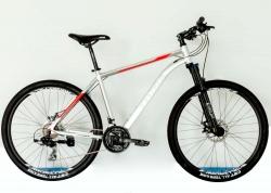 Велосипед Trinx 27,5 M116 Elite рама - 19 2021 Silver-White-Red