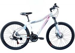 Велосипед Trinx 26 N106 Nana рама - 15.5 2021 White-Pink-Grey