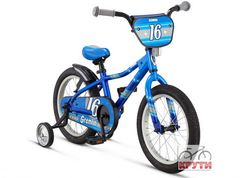 Велосипед 16 Schwinn Gremlin boys 2016 blue/light blue