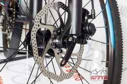Велосипед 26'' PRIDE XC-26MD рама - 19 черно-синий матовый 2016