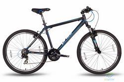 Велосипед 26'' PRIDE XC-2.0 - 17 серо-черный матовый 2016