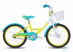 Велосипед 20 Pride Sandy белый/малиновый/розовый 2018