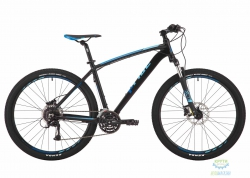 Велосипед 27,5 Pride Rebel 7.3 рама - 17 черный/оранжевый/красный 2017
