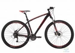Велосипед 29 Pride Rebel 9.3 рама - 21 черный/красный/серый 2017