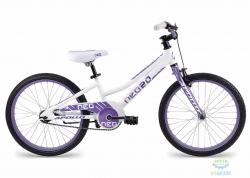 Велосипед 20 Apollo Neo girls 2017 Gloss White/Gloss Dark Pink
