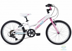Велосипед 20 Apollo Neo girls Geared 2017 Gloss Purple/ Gloss White/ Gloss Blue 6-speed