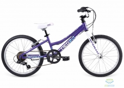 Велосипед 20 Apollo Neo girls Geared 2017 Gloss White/Gloss Pink / Gloss Blue 6-speed