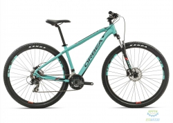 Велосипед Orbea MX 29 50 XL Black-green-yellow 2017