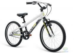Велосипед 20 Apollo Neo 3i boys Brushed Alloy / Black / Lime 2018