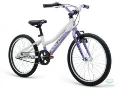 Велосипед 20 Apollo Neo 3i girls Brushed Alloy / Purple / Black 2018