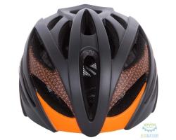 Шлем Green Cycle New Alleycat размер 54-58см для города/шоссе черно-оранжевый матовый