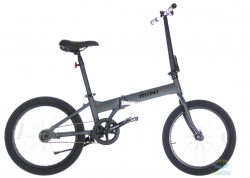 Велосипед 20 Pride MINI 1 темно-серый/черный 2019