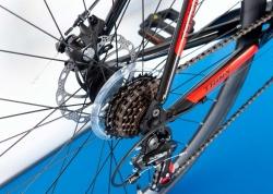 Велосипед Trinx 28 Tempo 2.1 рама - 54cm 2021 Black-Red-White