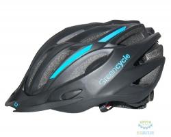 Шлем Green Cycle Rock размер 58-61см черно-белый