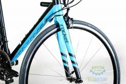 Велосипед 28'' 54 см PRIDE ROCKET SORA черно-синий 2016