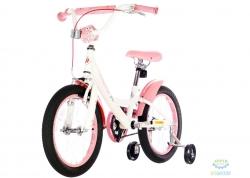 Велосипед 16&quot Pride Miaow Белый/розовый Лак 2017