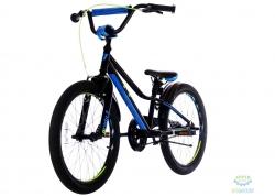 Велосипед 20 Pride Jack черный/синий/лайм 2018