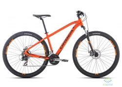 Велосипед Orbea MX 27 50 S Black-Blue 2016