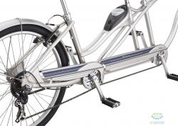 Велосипед 26 Schwinn TANGO Tandem серый 2019