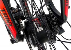 Велосипед Trinx 26 X1E рама - 17 2021 Matt-Black-Red-Blue