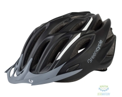Шлем Green Cycle Rock размер 58-61см серо-оранжевый