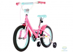 Велосипед 16 Pride Miaow розовый/мятный 2018