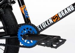 Велосипед 20 Stolen SINNER FC XLT 2020 BLACK W/ BLUE