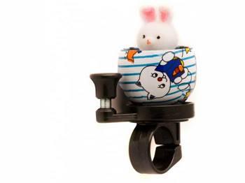 Звонок TW JH-303 Кролик, сигнал с рычагом под б. палец