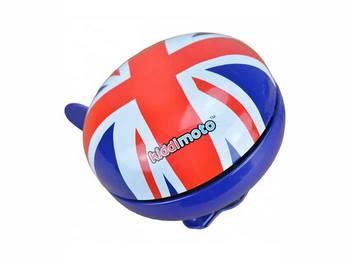 Звонок KiddiMoto британский флаг, большой