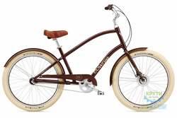 Велосипед 26 ELECTRA Townie Balloon 3i Men's Brown metallic