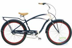 Велосипед 26 Electra Super Deluxe 3i Men's navy-Cream