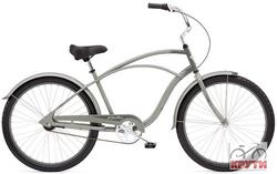 Велосипед  26 ELECTRA Cruiser Custom 3i Men's grey/dark grey