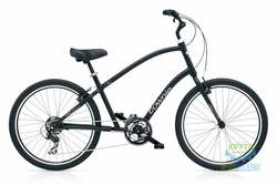 Велосипед 26 Electra Townie Original 21D Men's Black satin