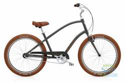 Велосипед 26 ELECTRA Townie Balloon 3i Men's army Grey