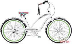 Велосипед  26 ELECTRA Blanc et Noir 3i Ladie