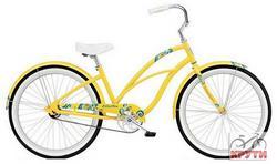 Велосипед  26 ELECTRA Coaster 1 .Alloy. Ladie 2013 sun yellow