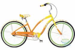 Велосипед 26 ELECTRA Daisy 3i Ladies Al Yellow fade