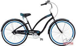 Велосипед 26 ELECTRA Mariposa 3i Ladie black