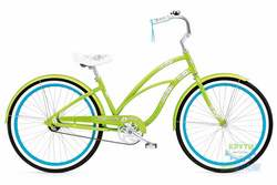 Велосипед 26 ELECTRA Hawaii Custom 3i (Алюм) Ladies Lime metallic