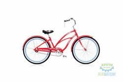 Велосипед 26 ELECTRA Hawaii Custom 3i (Алюм) Ladies Red