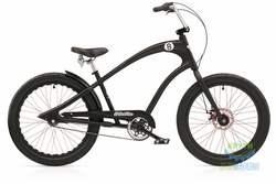 Велосипед 24 ELECTRA Straight 8 8i (Алюм) disc satin Black