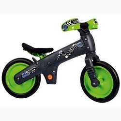 Велосипед (беговел) BELLELLI B-Bip Pl пластмасс. Зеленый