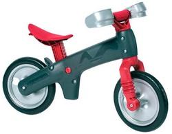 Велосипед (беговел) BELLELLI B-Bip Pl пластмасс. Серо-кр.