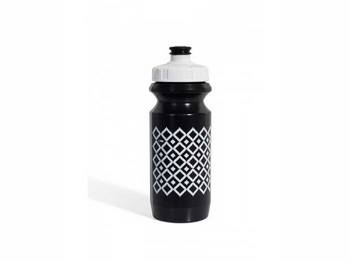 Фляга 600ml Green Cycle Орнамент с Big Flow valve, LDPI black nipple/ white matt cap/ black bottle