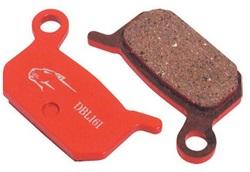 Колодки тормозные диск JAGWIRE Mountain Sport (Red Zone Comp) DCA022 (2 шт) - Formula B4