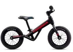 Детский велосипед Orbea Grow 0 Black-Red 2020