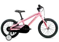 Детский велосипед Orbea MX 16 Pink-Blue 2020