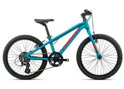 Детский велосипед Orbea MX 20 Dirt Blue-Red 2020