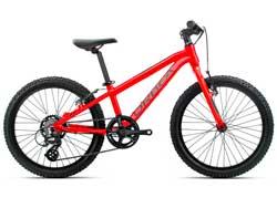 Детский велосипед Orbea MX 20 Dirt Red-Black 2020