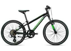 Детский велосипед Orbea MX 20 Speed Black-Green 2020